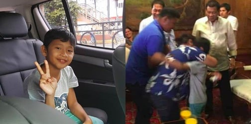 8-year-old boy taken hostage by the Abu Sayyaf has finally been freed