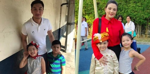 Sunshine Dizon and estranged husband Timothy Tan spotted together for the first time
