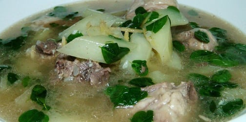 Did you know that tinola has a lot of health benefits for your family?