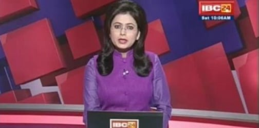 Brave news anchor learns of husband's sudden death on LIVE TV, stays calm