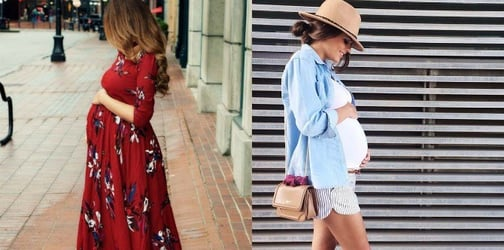 Summer maternity fashions for the stylish mom
