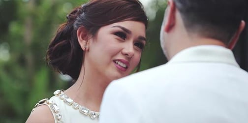 WATCH: Beauty Gonzalez exchanges beautiful wedding vows with husband Norman