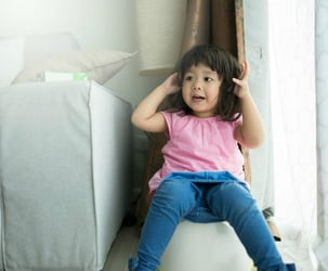 Is your child scared of taking a poop? This could be the reason