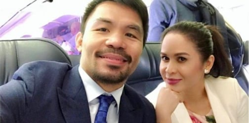 WATCH: Jinkee Pacquiao proves she has moves in the boxing ring too!