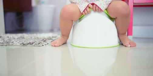 Potty train your child in just a week with these steps!