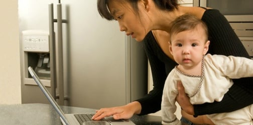 Are you a work-at-home parent? Protect yourself from these online scams!
