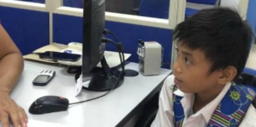 Grade 5 student offers to clean an entire office to earn money for a school project