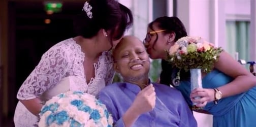 Terminally sick groom passes away shortly after getting married