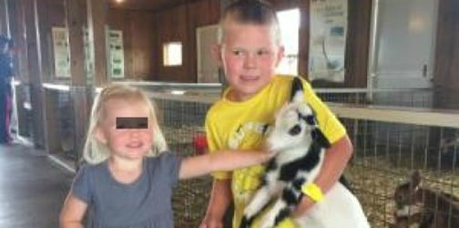 Visit to petting zoo leaves toddler dead and her brother fighting for his life
