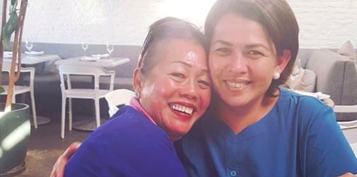 Actress Lotlot de Leon and biological mom reunited after 26 years
