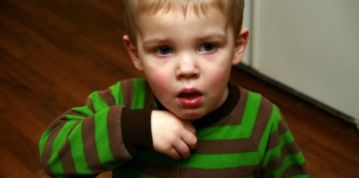 How can you tell if your child's sore throat might already be a bacterial infection?