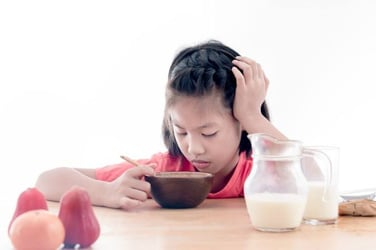 Forcing children to finish their food can cause eating disorders!