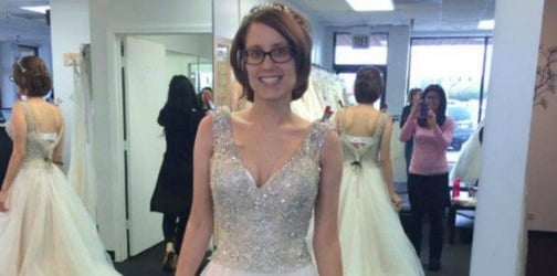 Husband discovers photo of his late wife wearing the wedding dress he never saw