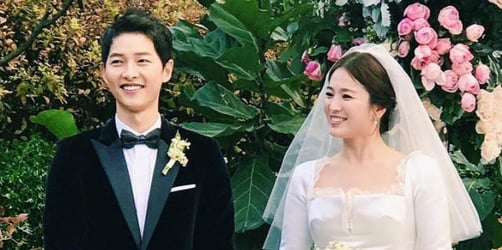 Song Joong-ki and Song Hye-kyo wed in tightly guarded ceremony