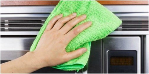 Cleaning household appliances: tips for new parents