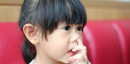 Study says a nose-picking habit is actually good for kids!
