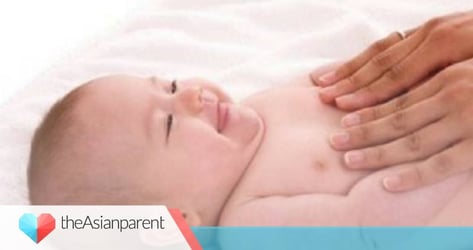 Tummy massage for colic and constipation