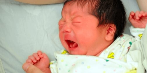 Study: Pacing up and down can help pacify your crying baby