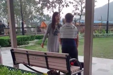 Chinese woman caught on cam yelling at Filipino domestic worker