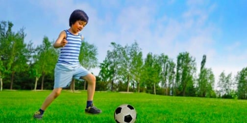 Kids are just fit and energetic as professional athletes, says study