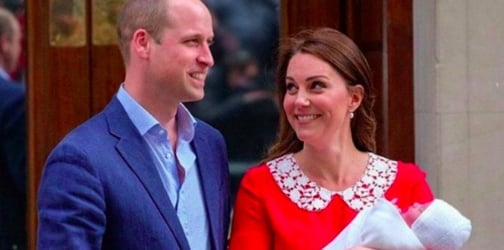 Kate Middleton gives birth to baby number 3!