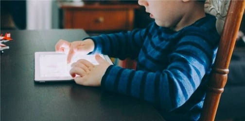 Too much screen time damages the brains of young children