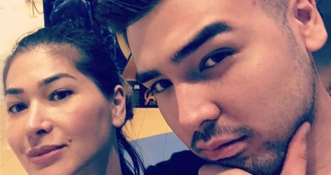 Jackie Forster shares photo of date night with Andre Paras