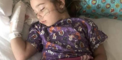 Mom warns about dry drowning dangers after her daughter almost dies