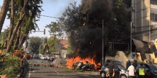 Mother and young daughters detonate themselves in Indonesia bomb blast