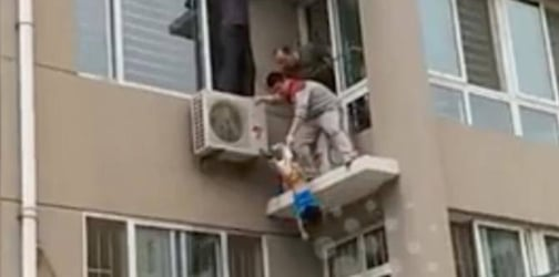 Toddler falls from building: dangers of leaving kids in locked rooms