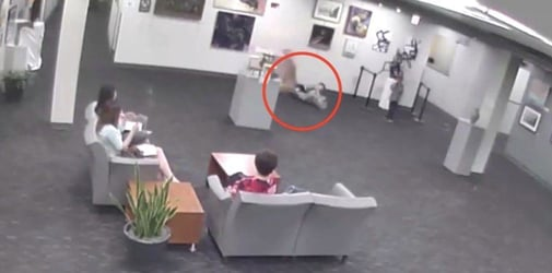 Parents asked to pay $132,000 after child damages glass sculpture