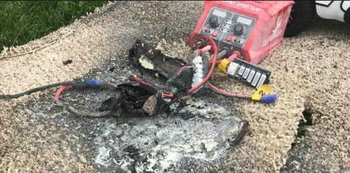 Remote-control toy explodes while charging: Family urges other parents to be careful