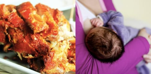 Can eating Crispy Pata boost breastmilk supply? It worked for this mom!