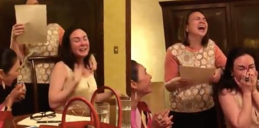 Gretchen Barretto and friends criticized for viral video of them laughing at a mom in need