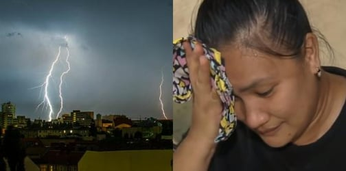 Cavite mom of two struck by lightning shares her story