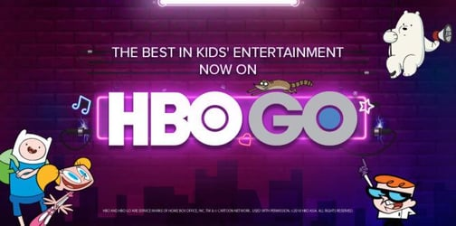 HBO GO - Kids will love it. So will you!
