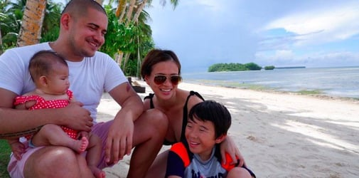 """LJ Reyes: """"As a parent, you can't do it alone. You can ask for help."""""""