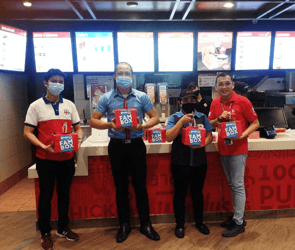Quality food for stellar heroes: WENDY'S takes part in COVID19 efforts.