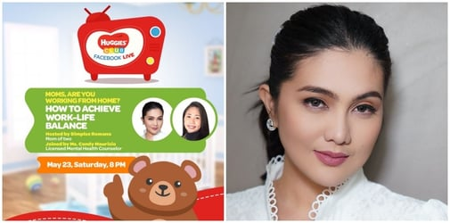 Huggies Club: Facebook live uplifts moms as they face the 'new normal'; stay tuned for the latest episodes featuring Dimples Romana