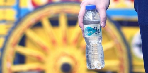 In choosing purified water, are you sure it's 'untouched by human hands'?