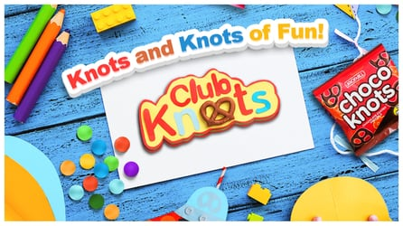 Get creative, have fun with your kids at home with Club Knots