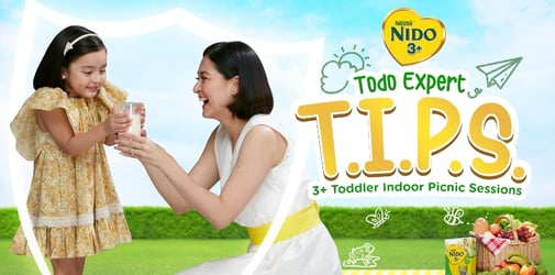 NIDO® 3+ launches Todo Expert Tips to guide moms on how to TODO protect 3+ toddlers