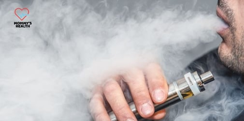 Is it safe to smoke a vape around a pregnant woman?