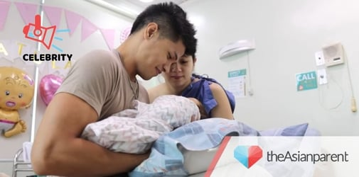 LOOK: Vin Abrenica at Sophie Albert Baby A's birth story