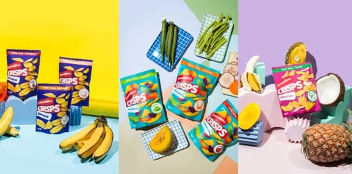 Craving for some chips? How about healthy snacks!