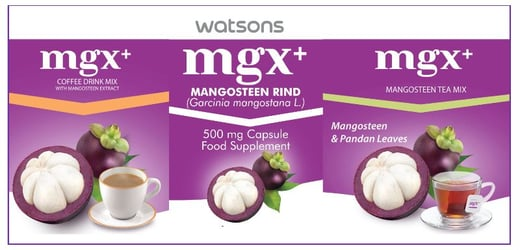 Enjoy the Benefits of Mangosteen with MGX+ by Watsons