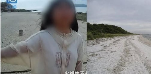 Chinese parents dump their rebellious daughter on a deserted island. Here's why!