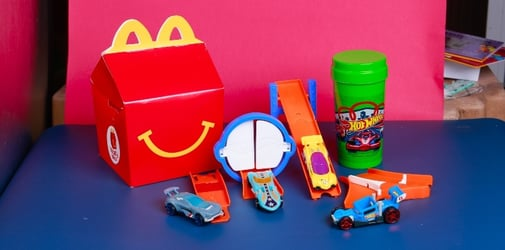 Don't miss out on McDonald's Barbie or Hot Wheels Limited Edition Tumbler Free with every Happy Meal Collector's Set!