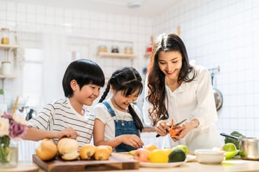 10 meal ideas to keep your kids happy and healthy
