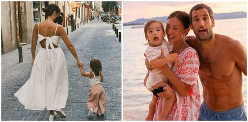 LOOK: Solenn Heussaff, Nico Bolzico and Thylane on vacation in Spain